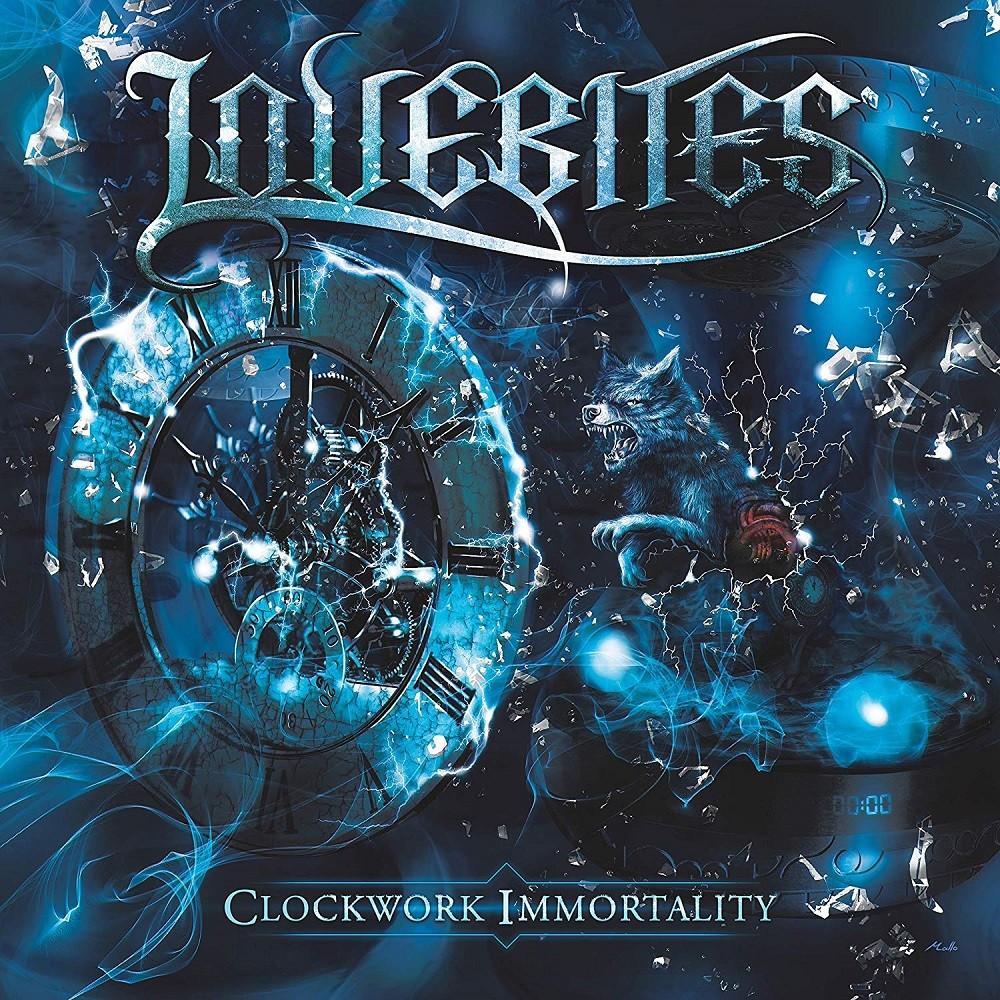 Lovebites - Clockwork Immortality (2018) Cover