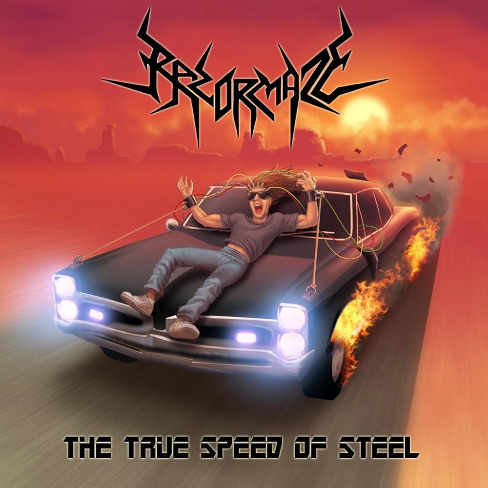 Razormaze - The True Speed of Steel (2009) Cover