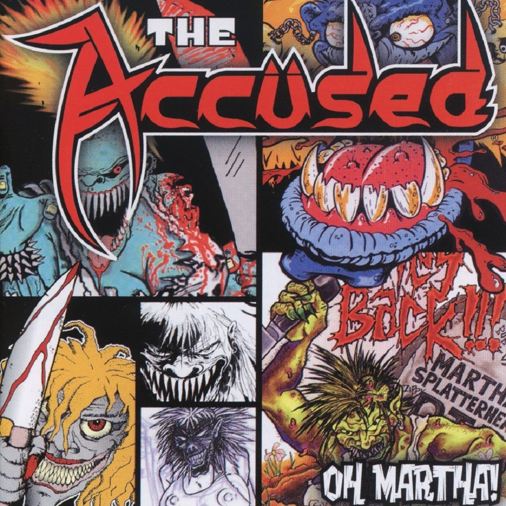 Accüsed, The - Oh Martha! (2005) Cover