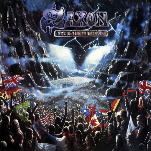 Saxon - Rock the Nations 1986