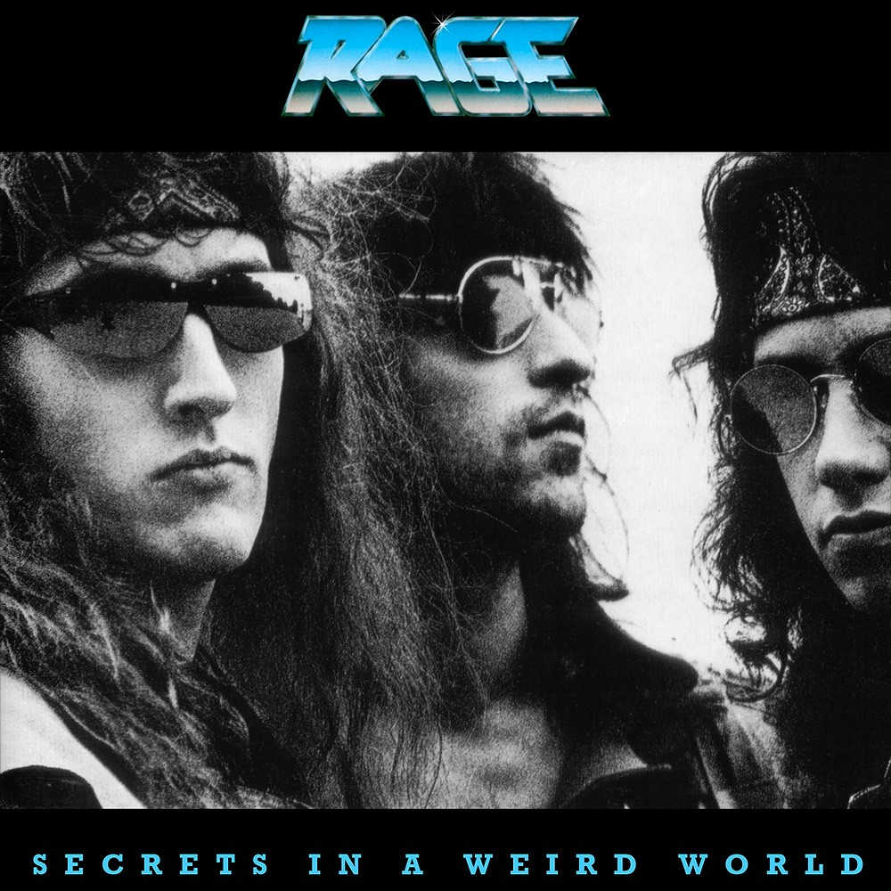 Rage - Secrets in a Weird World (1989) Cover
