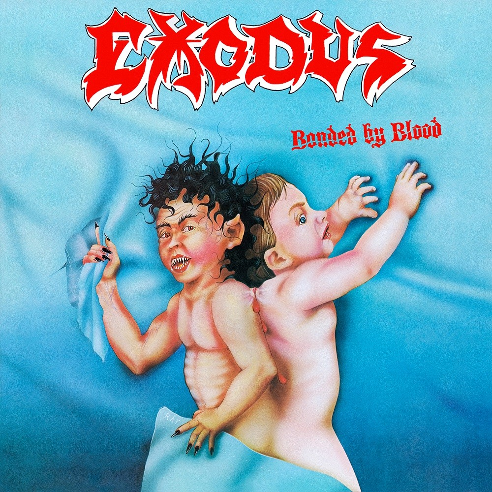 Exodus - Bonded by Blood (1985) Cover