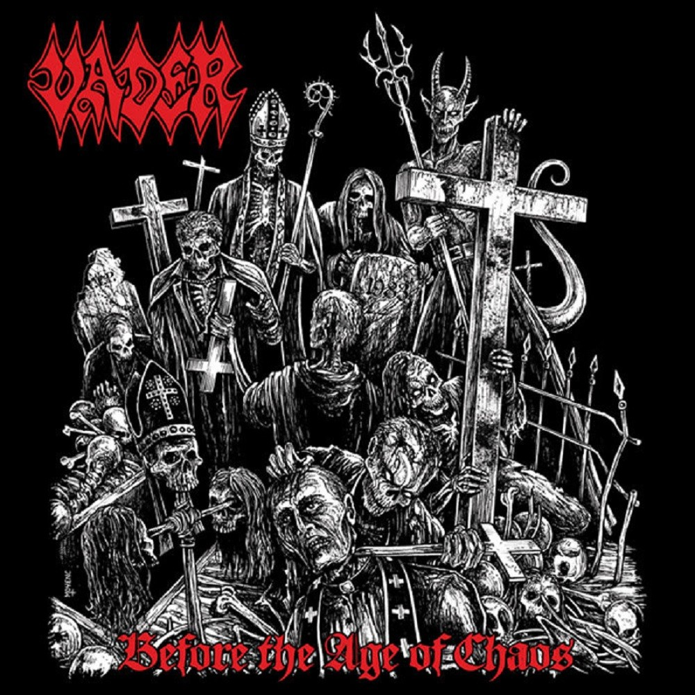 Vader - Before the Age of Chaos (2015) Cover