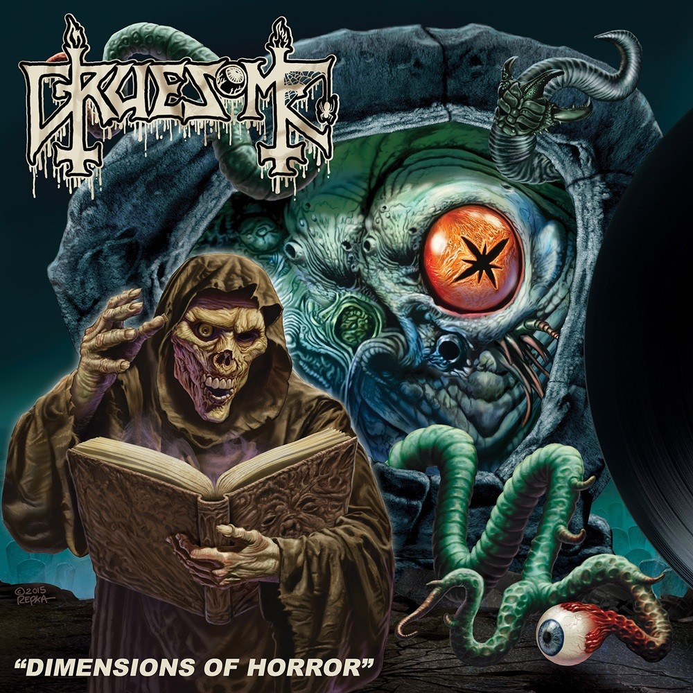 Gruesome - Dimensions of Horror (2016) Cover