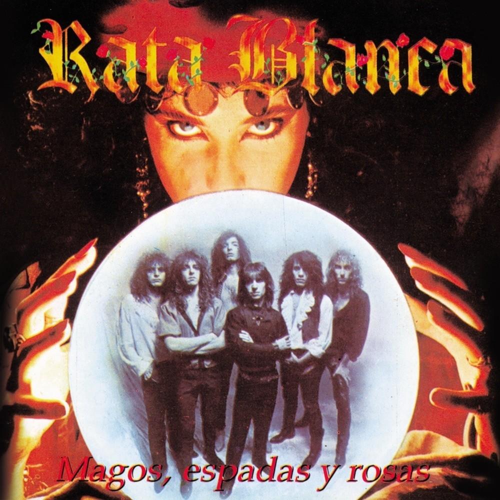 Rata Blanca - Magos, espadas y rosas (1990) Cover
