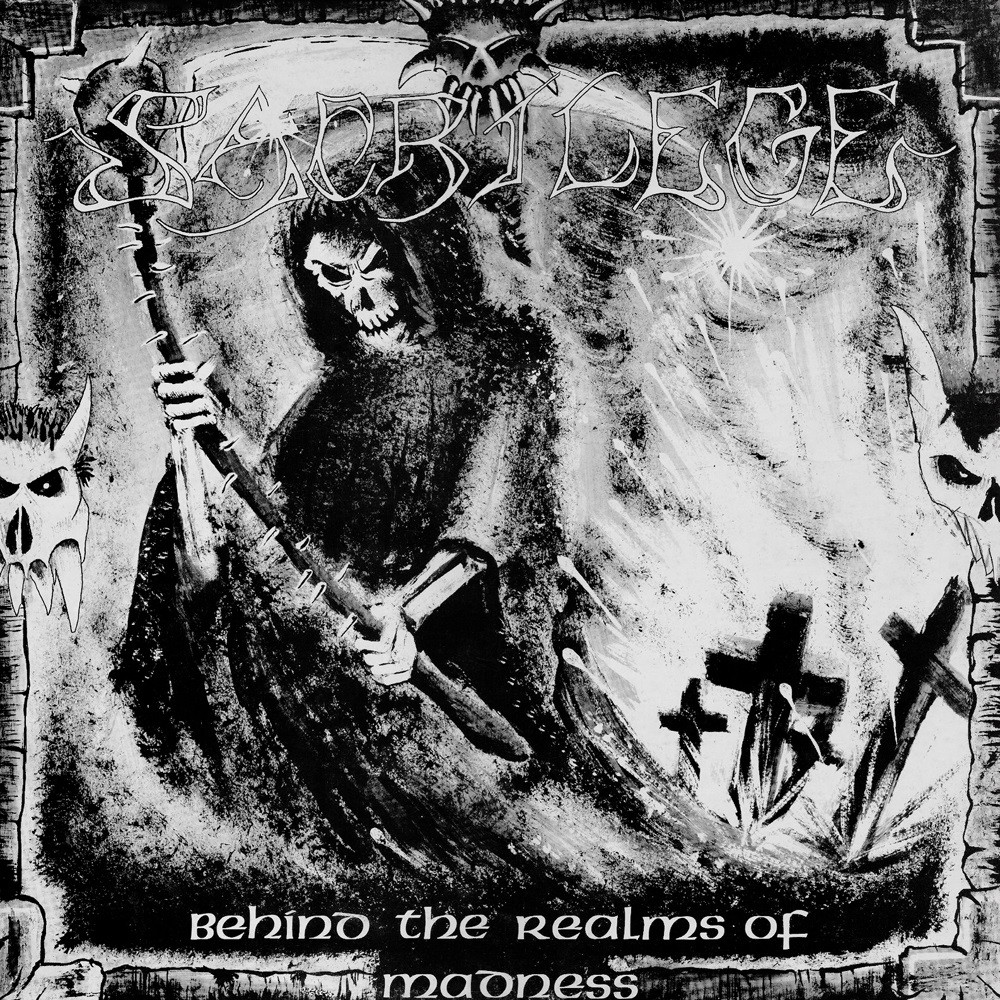 Sacrilege (GBR) - Behind the Realms of Madness (1985) Cover