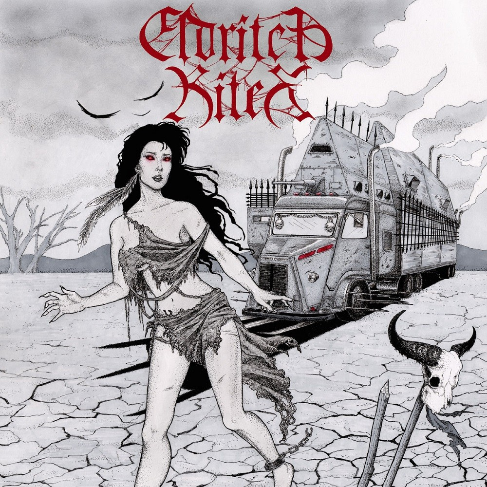 Eldritch Rites - Night of the Witch Grinder (2014) Cover