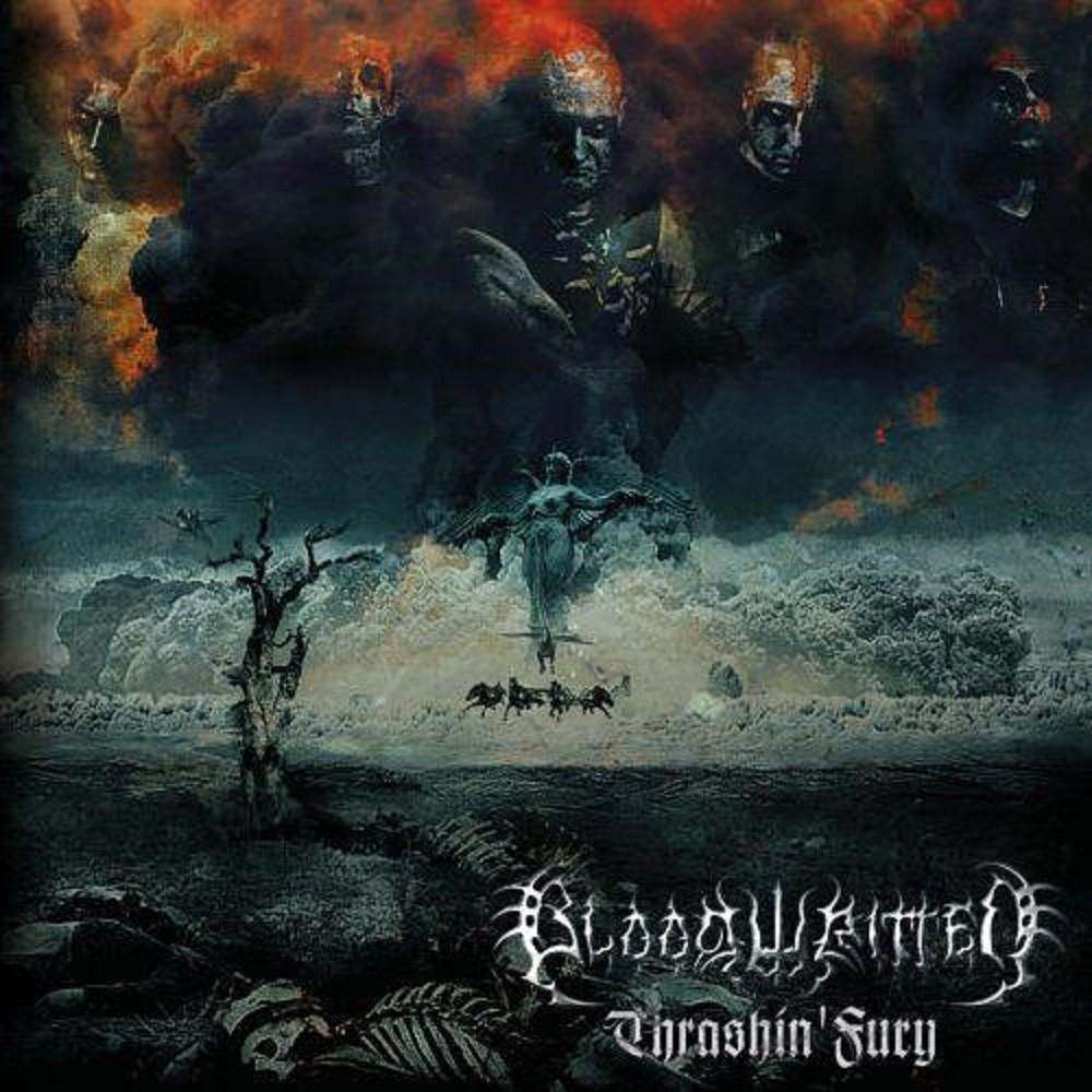 Bloodwritten - Thrashin' Fury (2010) Cover