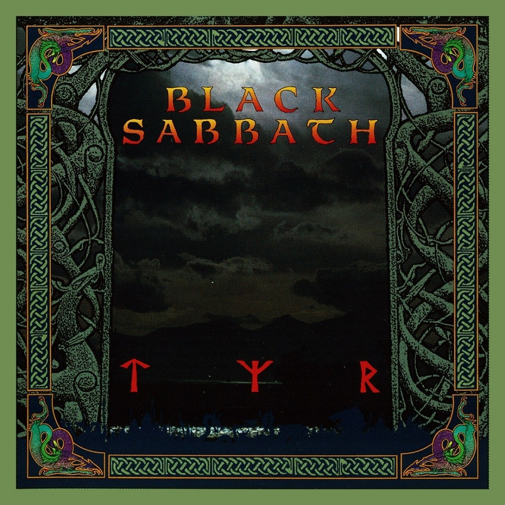 Black Sabbath - Tyr (1990) Cover