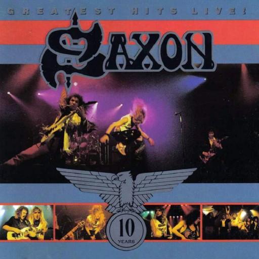 Saxon - Greatest Hits Live! 1990