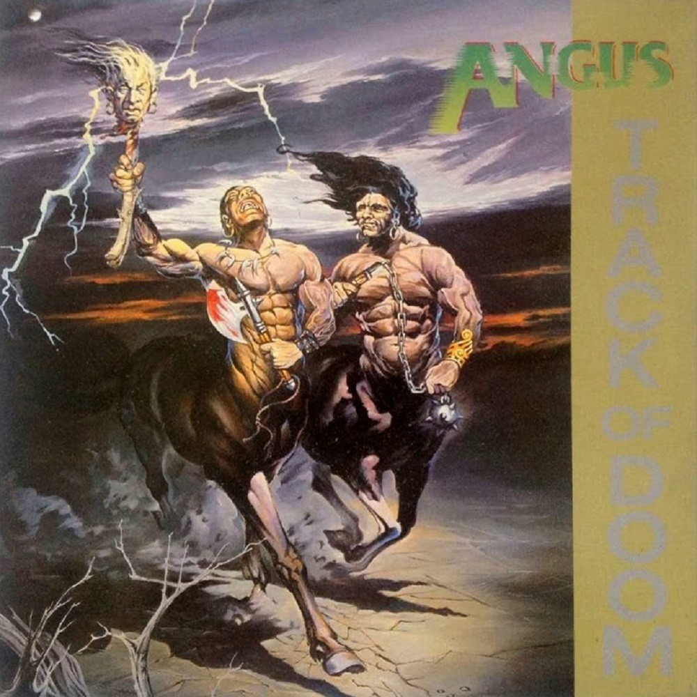 Angus - Track of Doom (1986) Cover