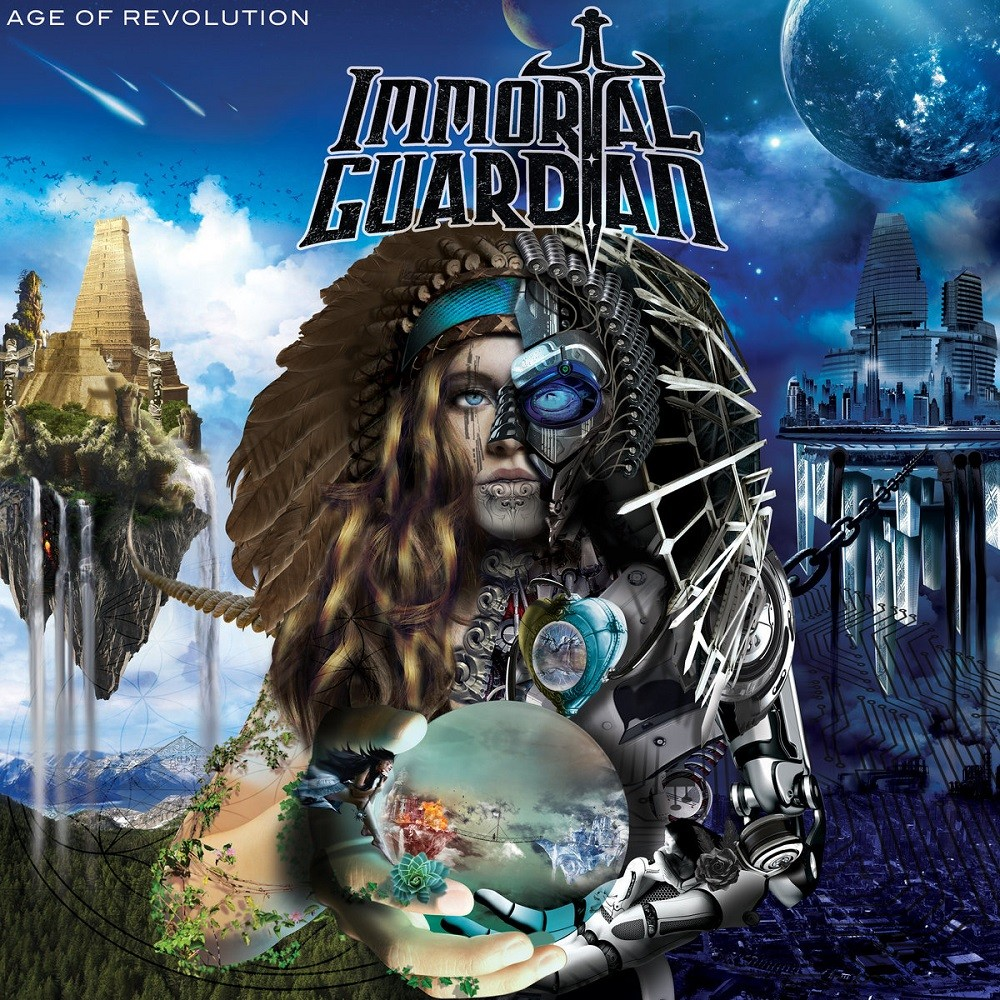 Immortal Guardian - Age of Revolution (2018) Cover