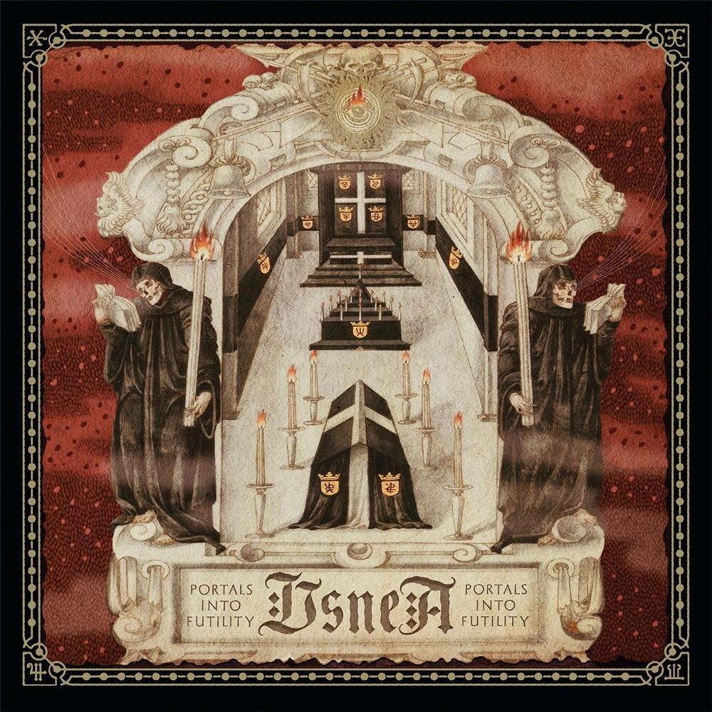 Usnea - Portals Into Futility (2017) Cover