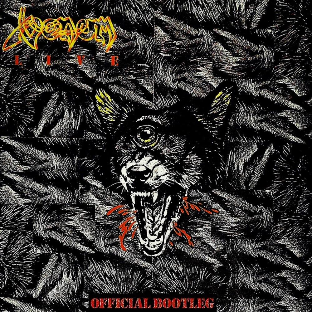 Venom - Venom Live: Official Bootleg (1986) Cover