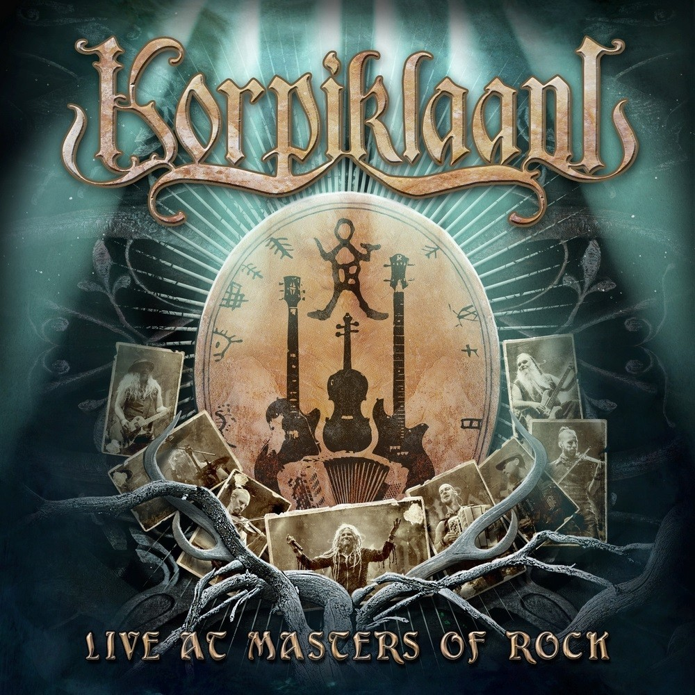 Korpiklaani - Live at Masters of Rock (2017) Cover