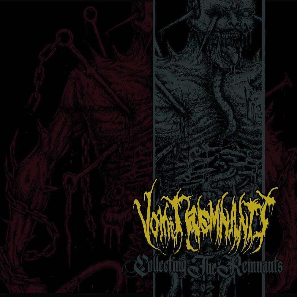 Vomit Remnants - Collecting the Remnants (2017) Cover