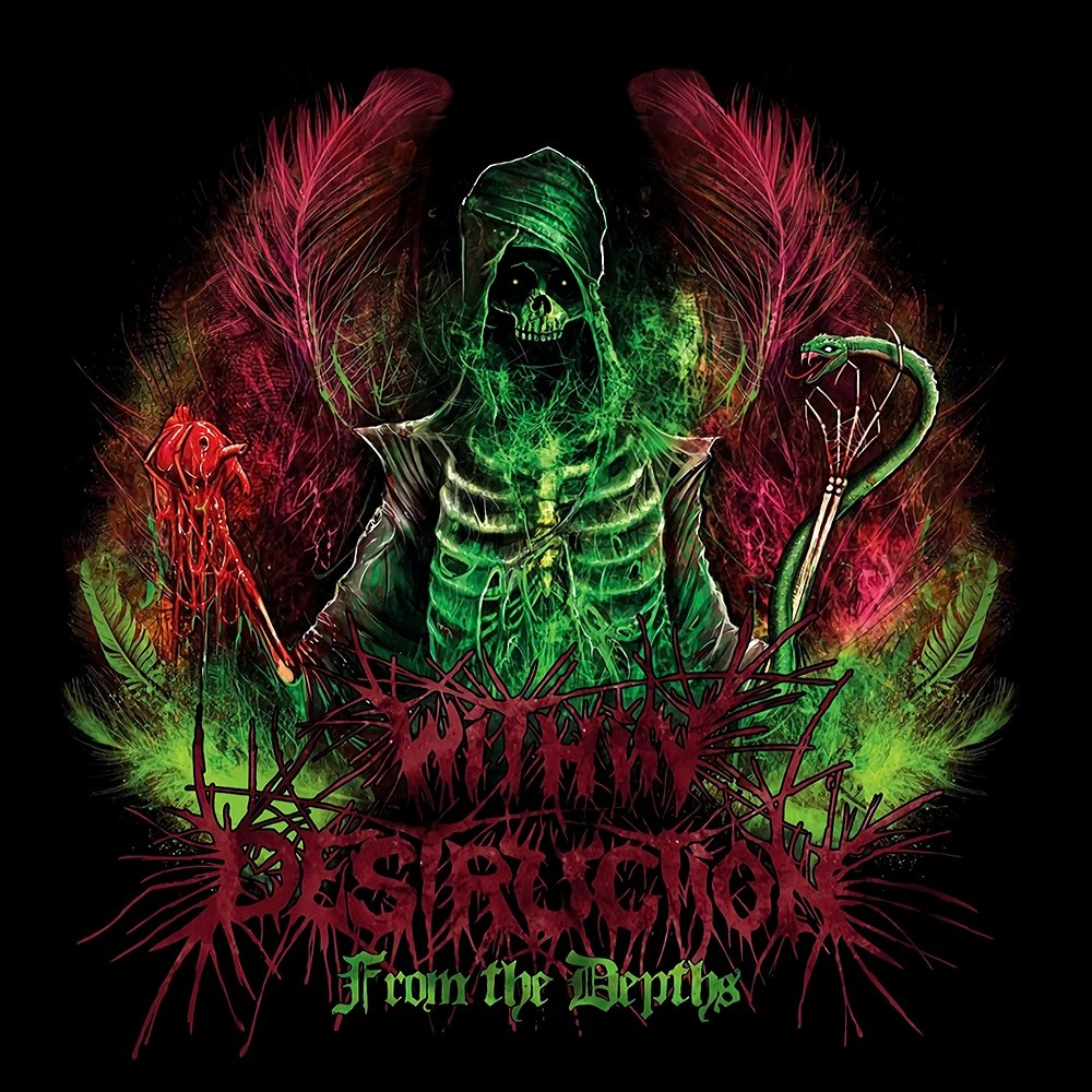 Within Destruction - From the Depths (2012) Cover