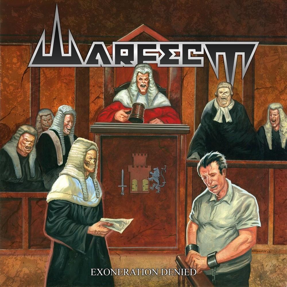 Warfect - Exoneration Denied (2013) Cover