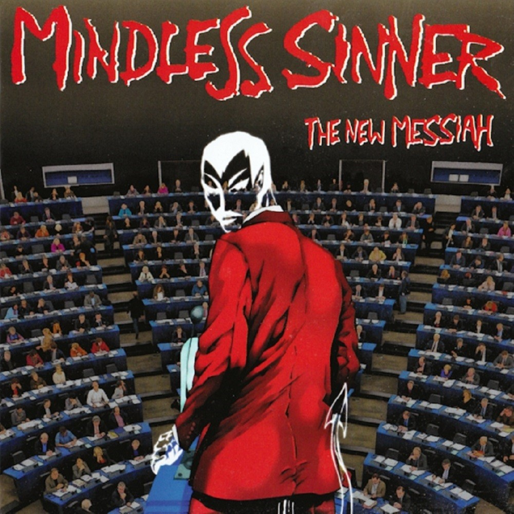 Mindless Sinner - The New Messiah (2015) Cover