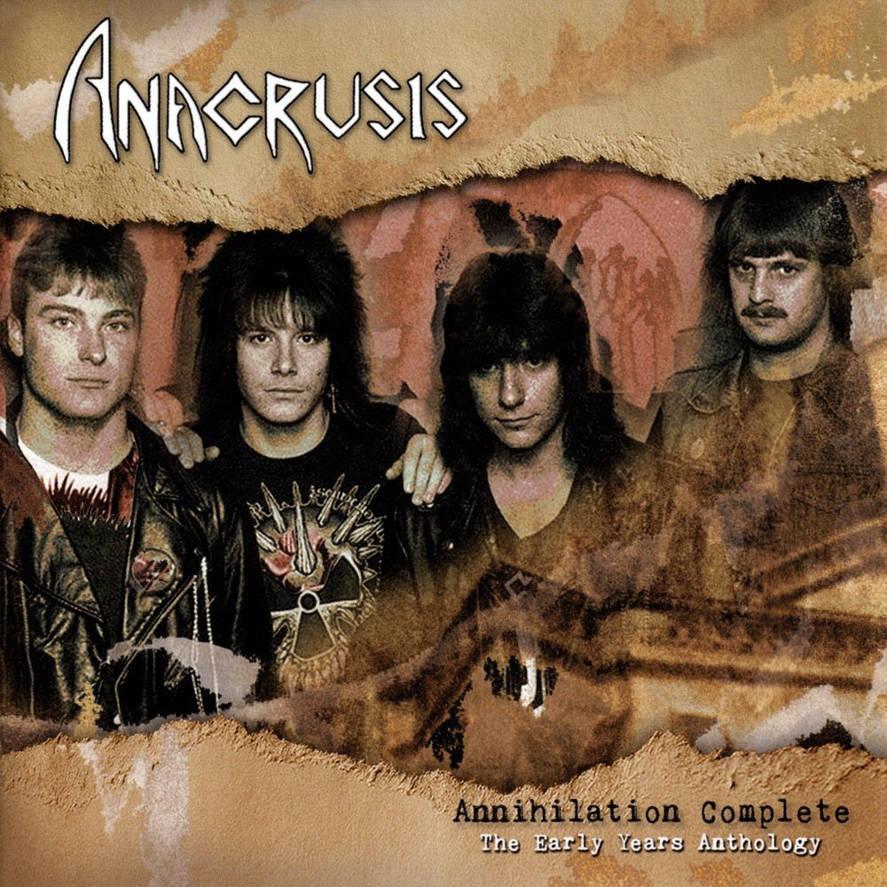 Anacrusis - Annihilation Complete - The Early Years Anthology (2009) Cover
