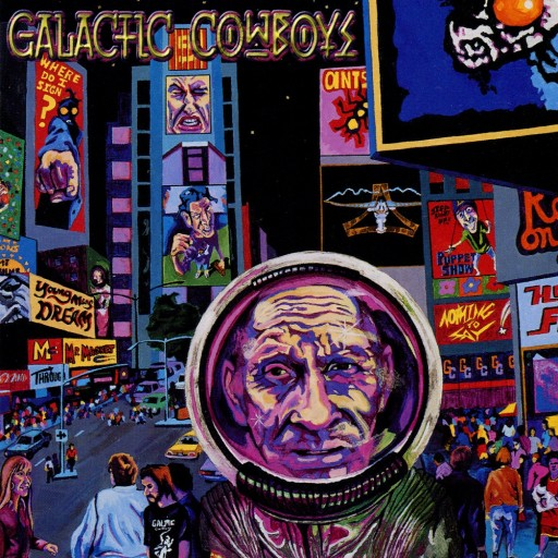 Galactic Cowboys - At the End of the Day 1998
