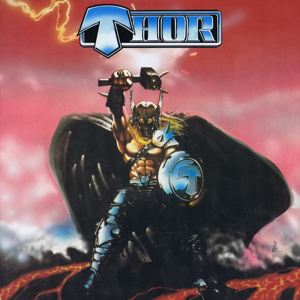 Thor - Only the Strong (1985) Cover