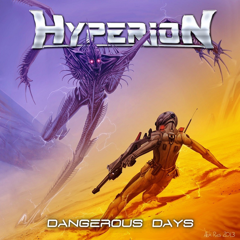 Hyperion (IT-BO) - Dangerous Days (2017) Cover