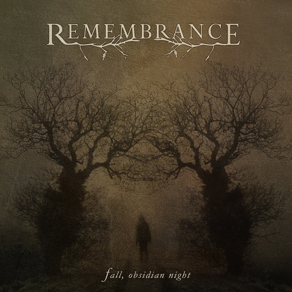 Remembrance - Fall, Obsidian Night (2010) Cover