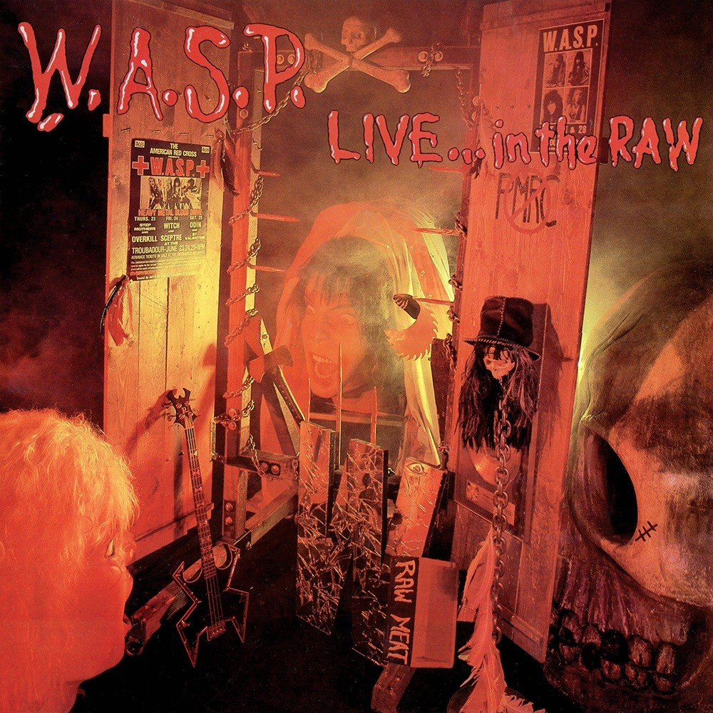 W.A.S.P. - Live... In the Raw (1987) Cover
