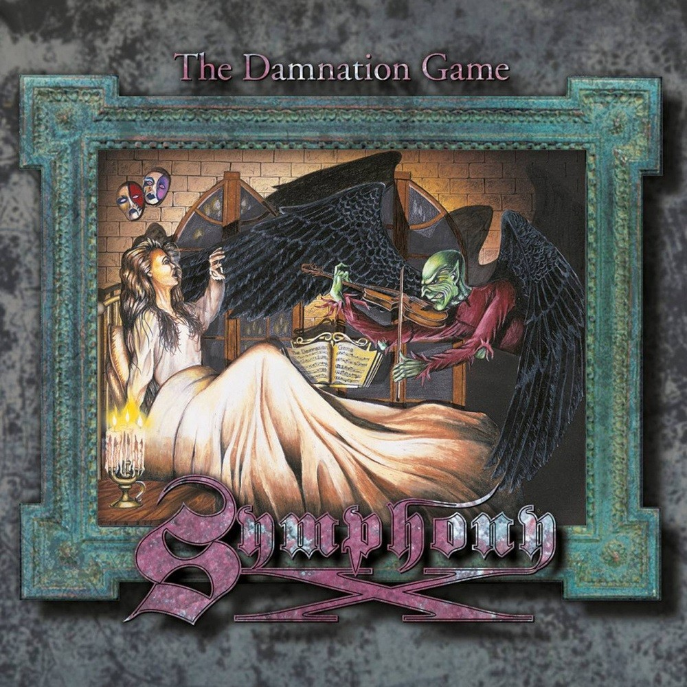 Symphony X - The Damnation Game (1995) Cover