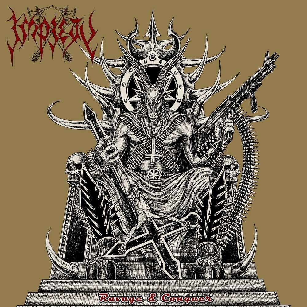 Impiety - Ravage & Conquer (2012) Cover