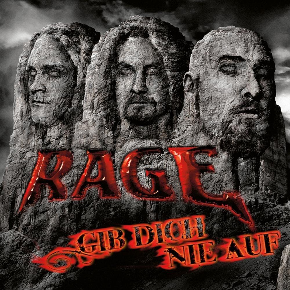 Rage - Gib dich nie auf (2009) Cover