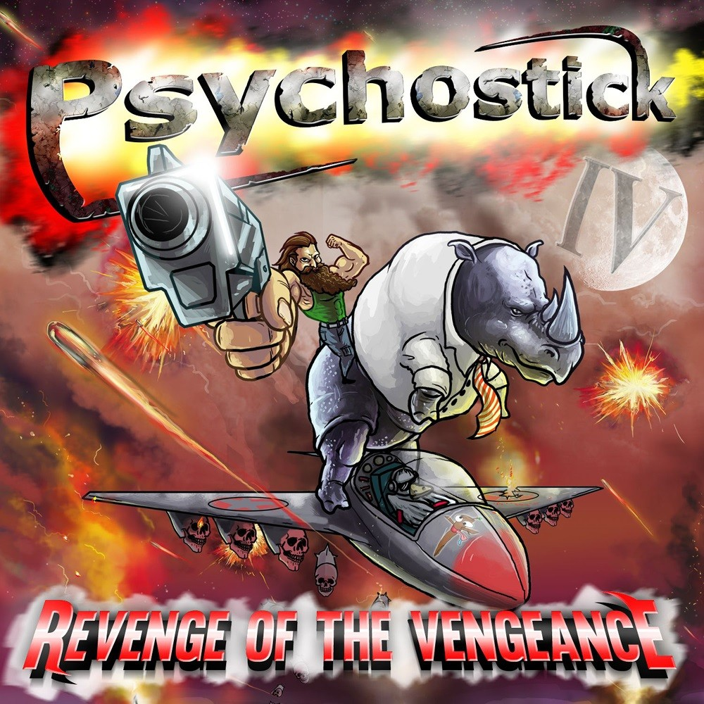 Psychostick - IV: Revenge of the Vengeance (2014) Cover