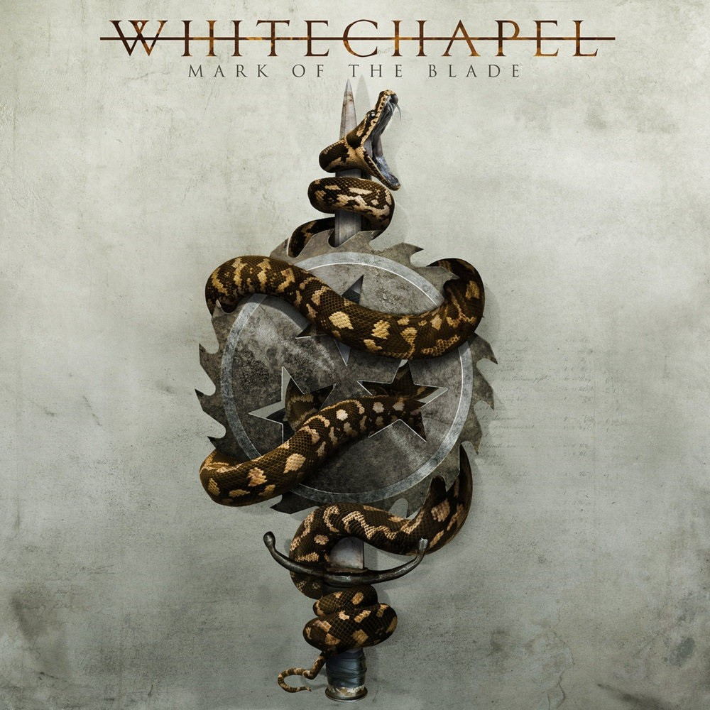 Whitechapel - Mark of the Blade (2016) Cover