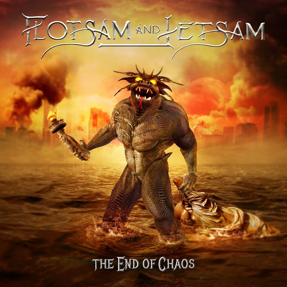 Flotsam and Jetsam - The End of Chaos (2019) Cover