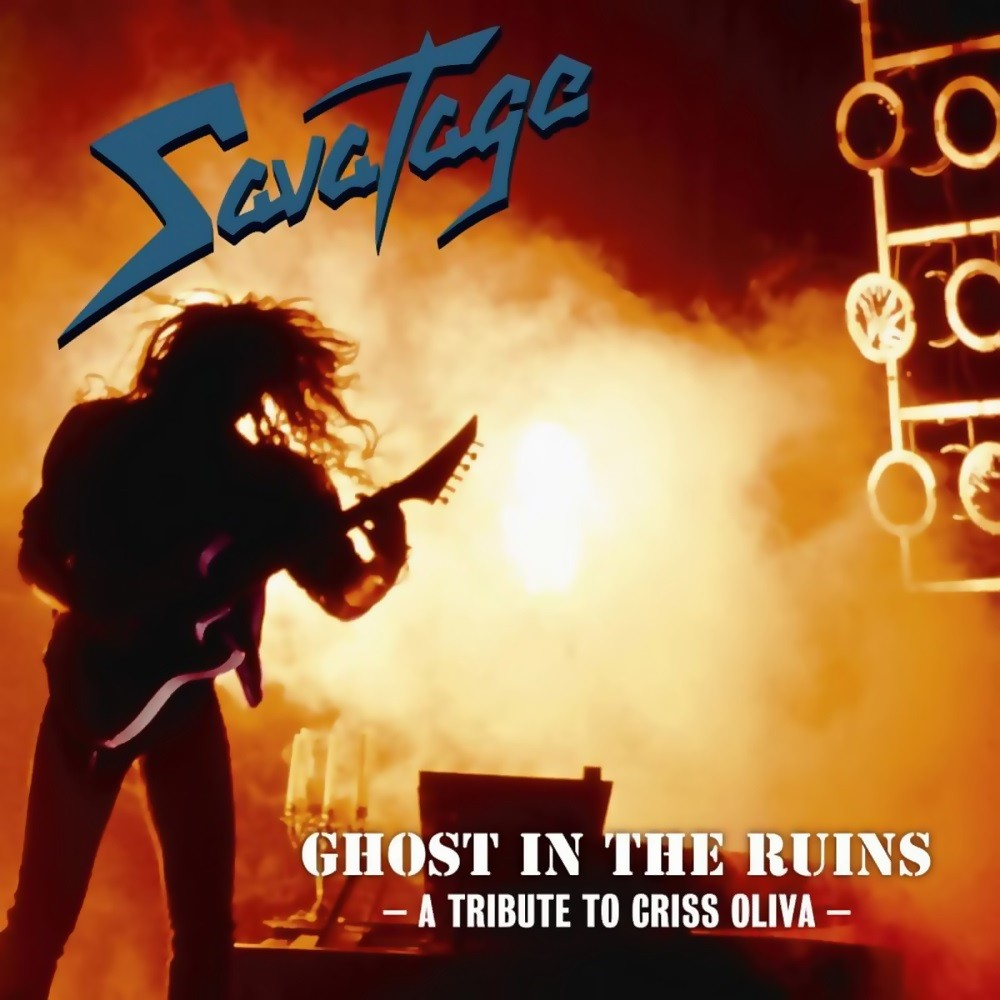 Savatage - Ghost in the Ruins: A Tribute to Criss Oliva (1995) Cover