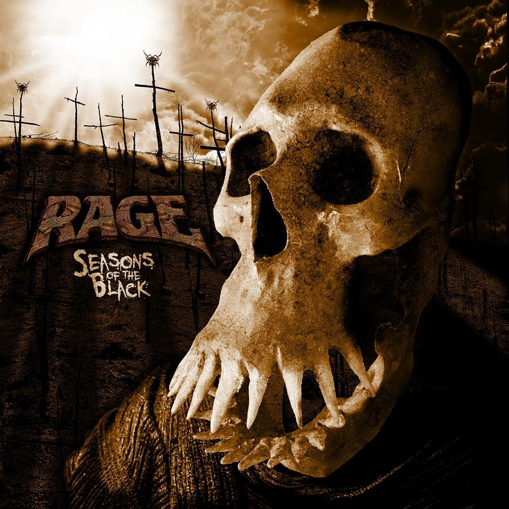 Rage - Seasons of the Black (2017) Cover
