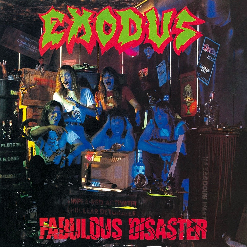 Exodus - Fabulous Disaster (1989) Cover