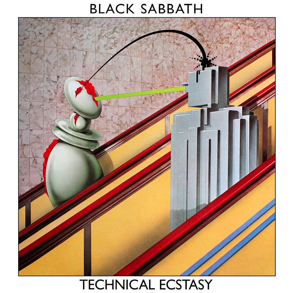 Black Sabbath - Technical Ecstasy (1976) Cover