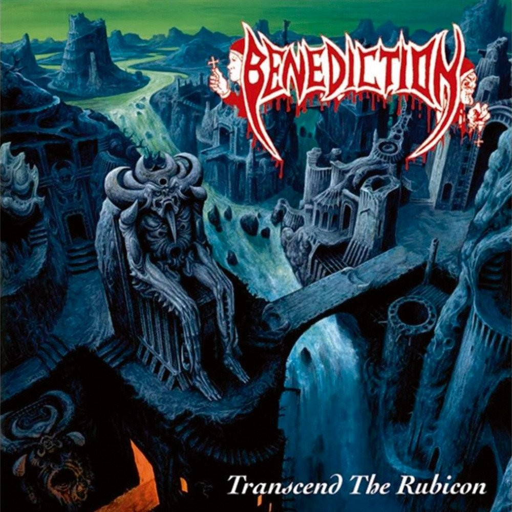 Benediction - Transcend the Rubicon (1993) Cover