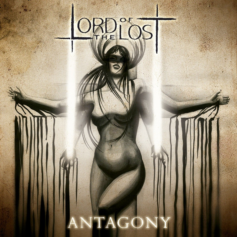 Lord of the Lost - Antagony (2011) Cover