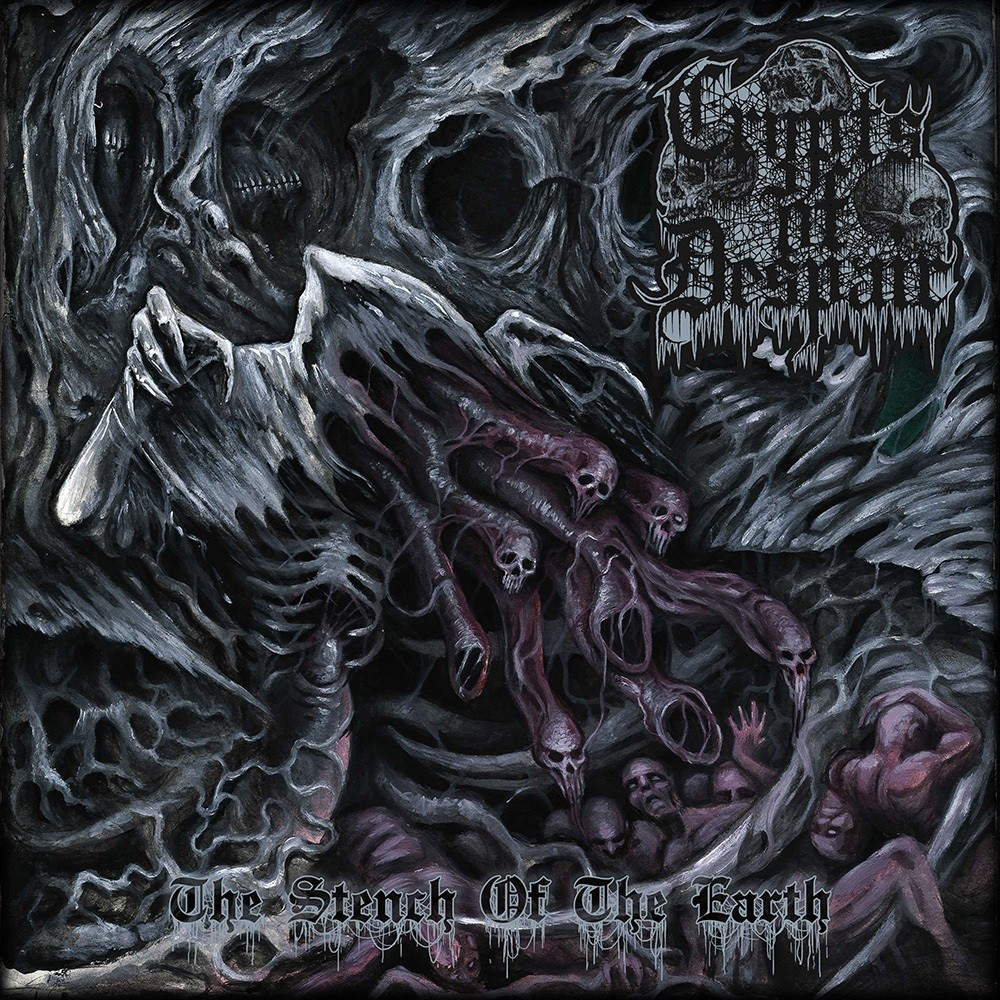 Crypts of Despair - The Stench of the Earth (2017) Cover