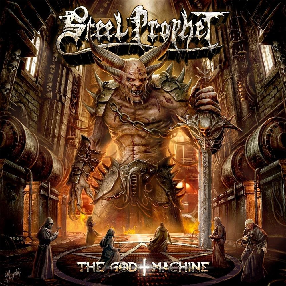 Steel Prophet - The God Machine (2019) Cover
