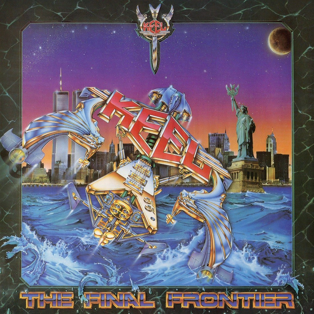 Keel - The Final Frontier (1986) Cover