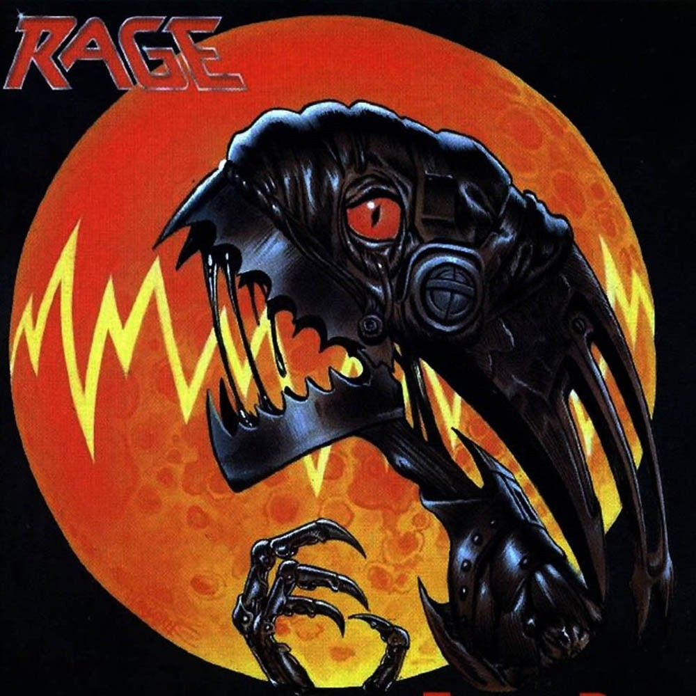 Rage - Extended Power (1991) Cover