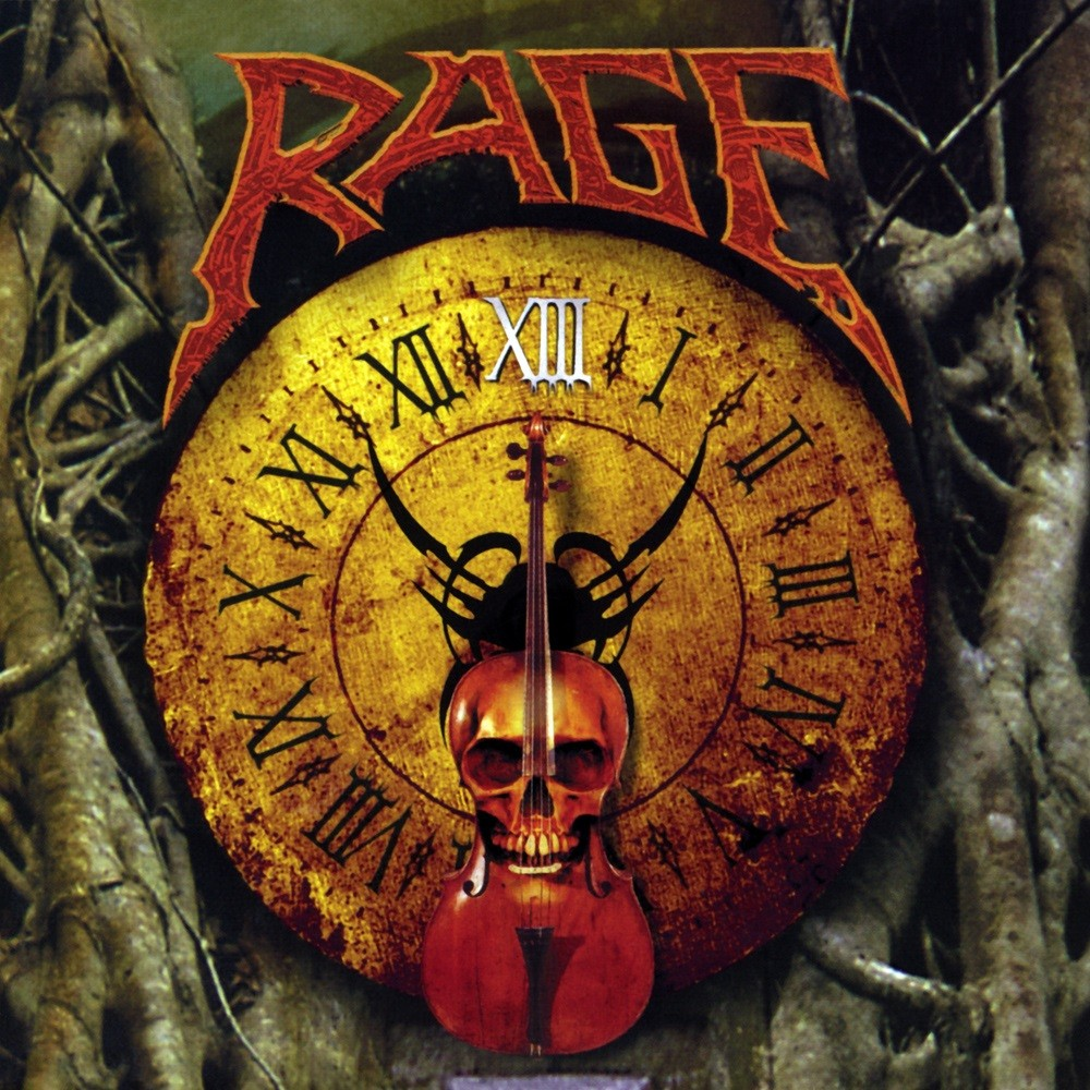 Rage - XIII (1998) Cover