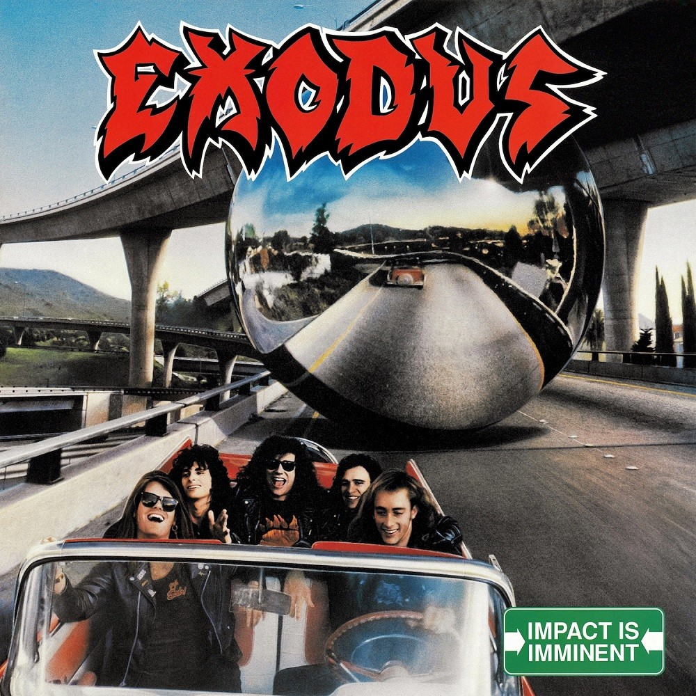 Exodus - Impact Is Imminent (1990) Cover