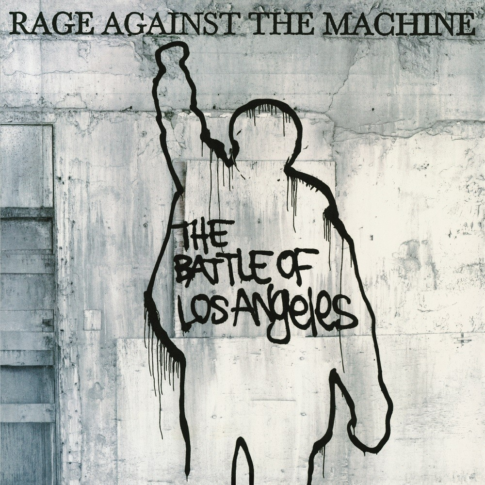 Rage Against the Machine - The Battle of Los Angeles (1999) Cover