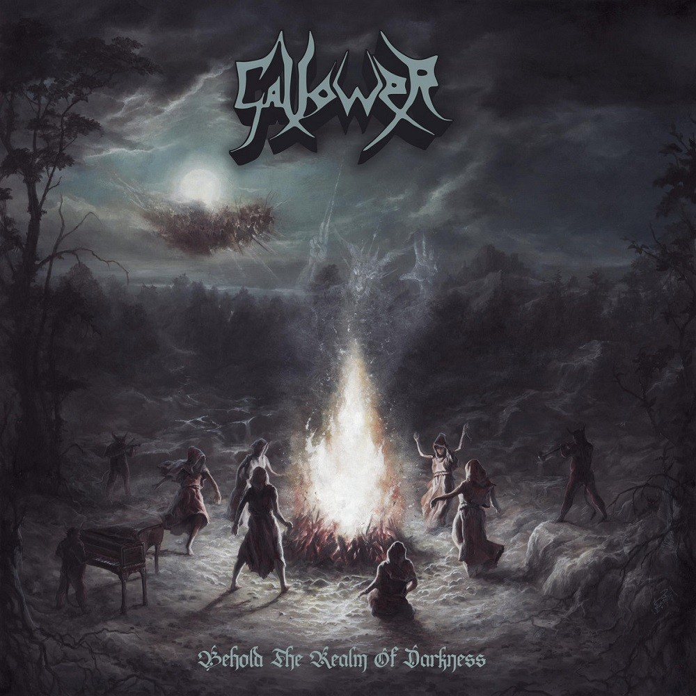 Gallower - Behold the Realm of Darkness (2020) Cover