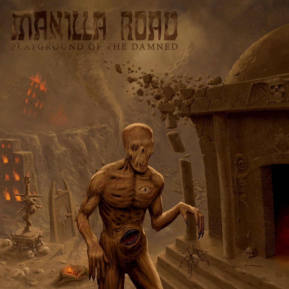 Manilla Road - Playground of the Damned (2011) Cover